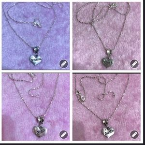$25 each. Mom 925 Sterling Silver Necklace